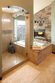 bathroom designs 2013. Love A Fireplace In The Bathroom. Master Bathroom Design: Large Shower With Separate Tub. Designs 2013 R