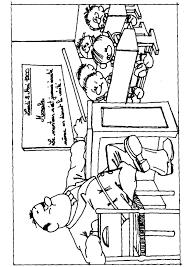 Coloriage Classe D Ecole Maternelle Dessin A Imprimer