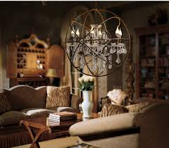 orb chandelier with crystals home furniture for sphere decor 17