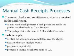 Cash Received Receipt Adorable Revenue Cycle AIS