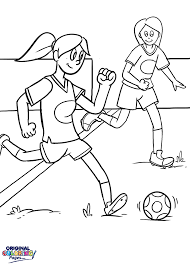 Small Picture Soccer Coloring Pages Original Coloring Pages