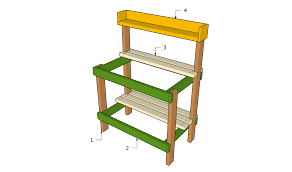 DIY Potting Bench Plans  DIY  Bench Plans Mother Earth And BenchPlans For A Potting Bench
