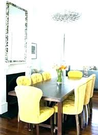 yellow dining room chairs leather dining room set yellow leather dining chairs colored leather dining chairs