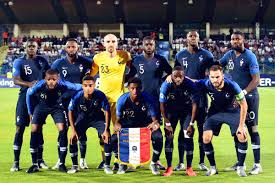 Équipe de france de football) represents france in men's international football and is controlled by the french football federation, also known as fff, or in french: Equipe De France On Twitter C Est Reparti 1 0 Fracro