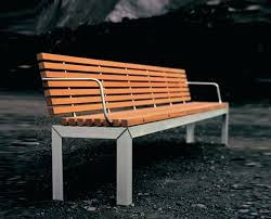 famous modern outdoor bench