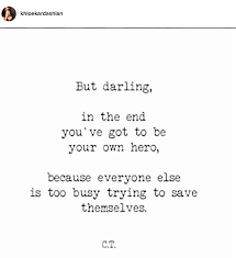 Quotes instagram See Khloé Kardashian's Most Inspirational Quotes on Instagram Life 86
