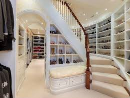walk in closet design for women. This Two-story Walk-in Closet Has A Gorgeous Hardwood Staircase With Light Walk In Design For Women