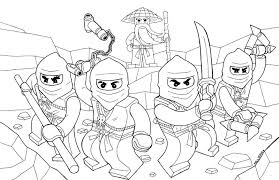 Free Printable Ninjago Coloring Pages The Sun Flower Lego Movie