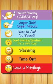 Kindergarten Behavior Color Chart Printable Digital Behavior Chart For Kids Of All Ages Color