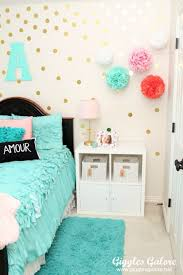 75 best diy room decor ideas for teens polka dot walls diy room