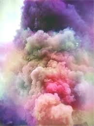 Image result for explosion cloud in the water colour
