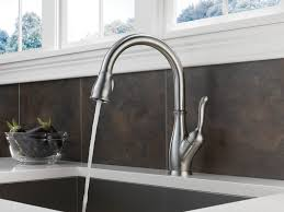 Delta White Kitchen Faucets Awesome Grohe White Kitchen Faucet Kitchen Colors Best White