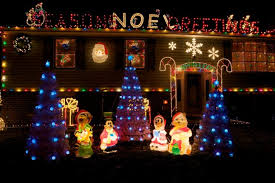 xmas lighting decorations. Outdoor Lighting: Blue Christmas Tree Lights Electric Old Fashioned Xmas Lighting Decorations