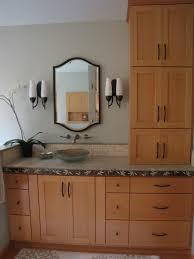 Furniture Countertop Linen Tower Vanity With Matching Linen Bathroom Vanities And Towel Cabinets