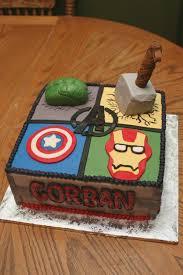 Avengers Birthday Cake Birthdaycakegirlideasga
