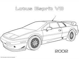 2002 Lotus Esprit V8 Kleurplaat Gratis Kleurplaten Printen