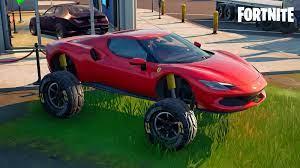 Fortnite Ferrari locations: Where to find a Ferrari 296 GTB & complete all  quests - Dexerto