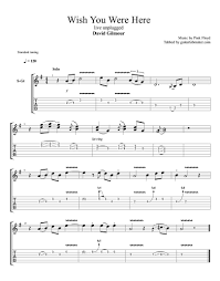 Wish You Were Here Strumming Pattern Custom Inspiration Ideas