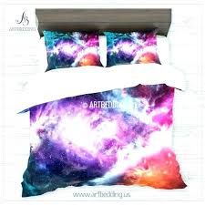 deny designs bedding abstract duvet cover full size of galaxy bedding nebula in deep space set