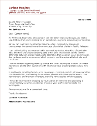 Are Cover Letter Necessary Esthetician Cover Letter Sample