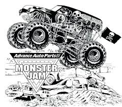 Hot Wheels Monster Truck Colouring Pages Hot Wheels Monster Truck