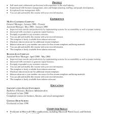 Standard Resume Standard Resume Template Interesting Standard Design Resume 1