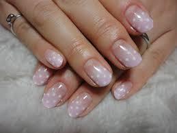 ネイル 白 ピンク