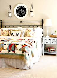 A Patchwork Quilt Sets the Scene For This Colorful, Pattern-Happy ... & Can you tell us more about your decision to decorate around the Pottery Barn  Multistar Patchwork Quilt? How did it affect your other décor choices? Adamdwight.com