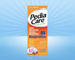 Pediacare Childrens Ibuprofen Fever Reducer Pain Reliever