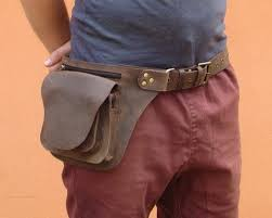 Leather Utility Belt Rugged <b>Hunter</b> Leather - Multipocket Hip <b>Belt Bag</b>