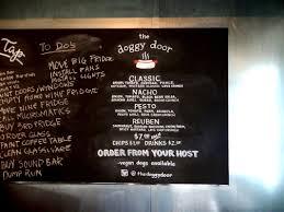Chalk Board Menu Board Menu Boards