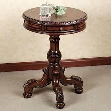 small round end table wonderful round pedestal accent table small round pedestal end tables round pedestal