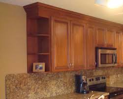 beautiful kitchen wall cabinet end shelf design home design