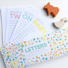 Letters Stationery Keepsake Letters Baby Shower Gift Ideas Letter To Your Child