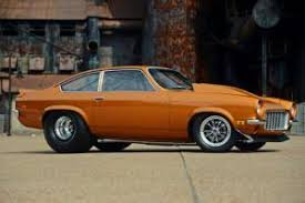 this big block powered chevrolet vega
