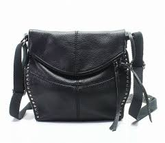 marc jacobs downtown studded leather cross bag black for