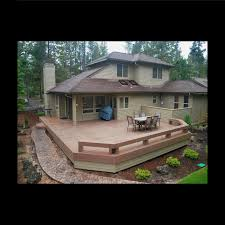 deck accent lighting. TimberTech Legacy Deck With Custom Benches And Accent Lighting. Bend, OR Lighting