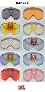 Oakley Snow Goggle Lens Chart Details About Oakley Brand Crowbar Snow Goggle Replacement Lens Choose Color Mirror Prizm