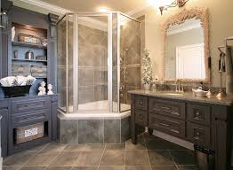 Fine French Country Bathroom Ideas Traditional With Custom Cabinetry Inside Impressive Design