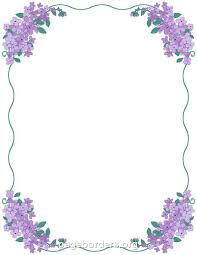 Flower Page Borders For Word Flowers Healthy
