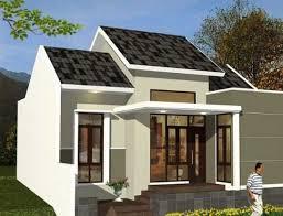 rumah idaman sederhana minimalis modern gambar desain model