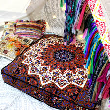Image Patchwork Large Bohemian Floor Cushion Cover Hippie Floral Throw Pillow Ethnic Sofa Pillow Alibabacom Large Bohemian Floor Cushion Cover Hippie Floral Throw Pillow Ethnic