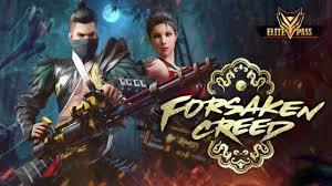 Garena Free Fire Forsaken Creed Elite Pass rewards detailed