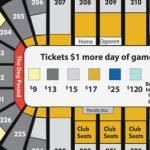 Awesome Bradley Center Seating Chart With Rows Clasnatur Me