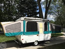 a few months ago i made a bit of an impulse purchase and bought this 1994 pop up camper for well i basically got what i paid for