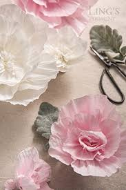 Paper Flower Archway Lings Moment Paper Flower Decorations Crepe Paper Flower