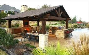 covered outdoor kitchen medium size of cad drawings kitchens rustic cooking sheds with fireplace plans ca