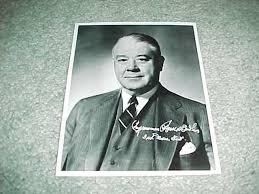 Massachusetts Congressman Harold Donohue Autographed Si