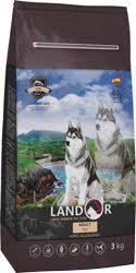 <b>Корм Landor</b> | <b>Ландор</b> Рыба и Рис для собак купить в Prokormim.ru