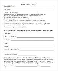 Sample Vendor Registration Form 8 Documents In Word Pdf For